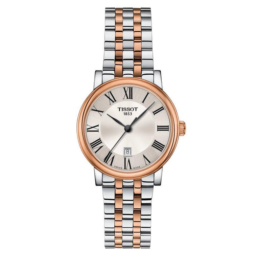 Tissot TISSOT T-Classic Collection Carson Premium Lady - Rose Gold & Grey - Gemorie
