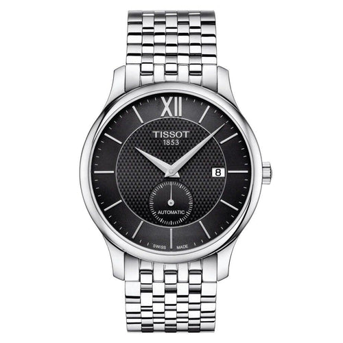 Tissot TISSOT Tradition Automatic Small Second HMSD Dial Men's Watch - Stainless Steel - Gemorie