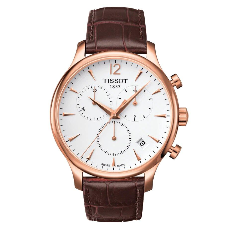 Tissot TISSOT Tradition Chronograph Men's Watch - Brown - Gemorie