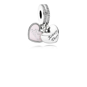 PANDORA Always There Heart Dangle Charm