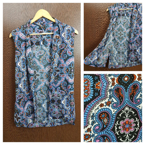 Blue , Black , Pink Printed Casual Sleeveless Shrug