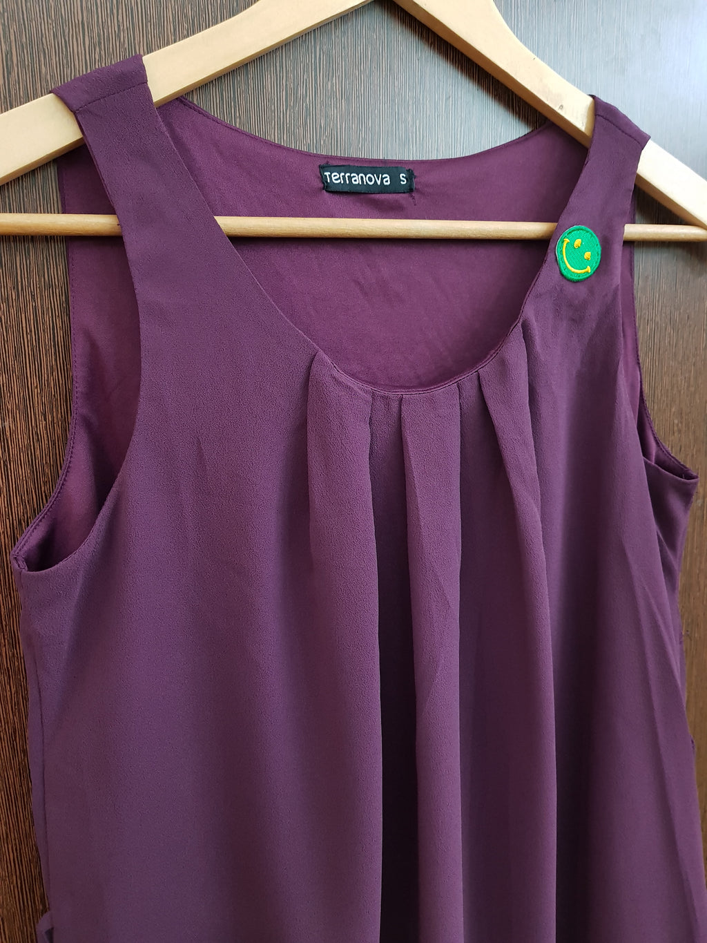 Maroon Smiley Dress