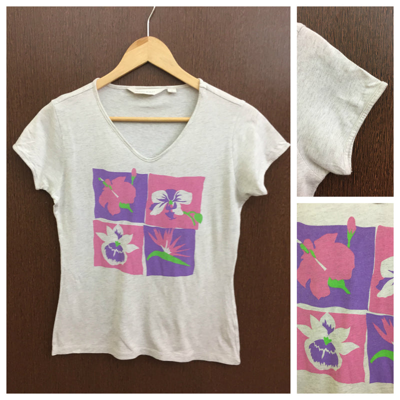 Flower Patches Cream Tee