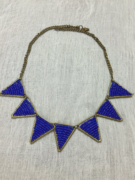 Give me Blue - the chic blue neck piece - #FTFY - For The Fun Years