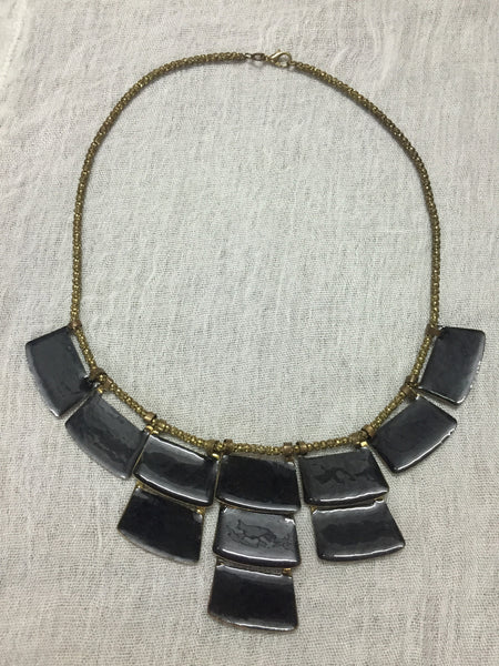 The black rectangles - light weight neck piece - #FTFY - For The Fun Years