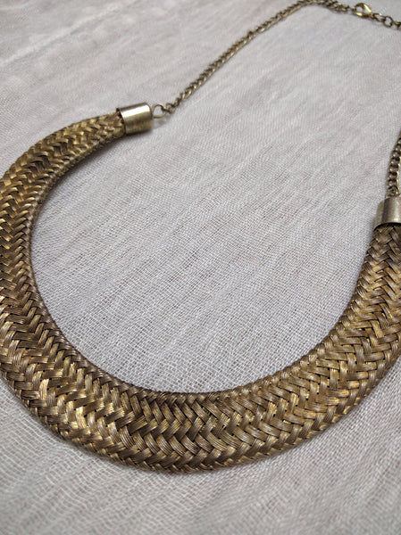 The Golden Strip Neck piece - #FTFY - For The Fun Years