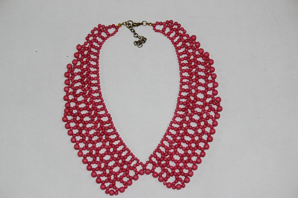 Pretty Pink Collar Neck piece - #FTFY - For The Fun Years