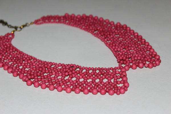 Pretty Pink Collar Neck piece