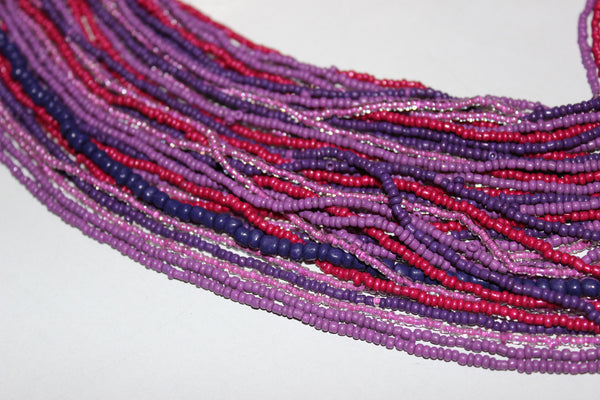 Shades of Purple - Maze Neck piece - #FTFY - For The Fun Years