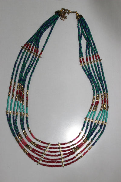 Vibrant Boho Neck piece - #FTFY - For The Fun Years