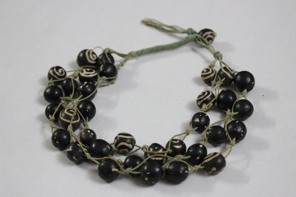 Wood series - The Brown Tribal Beads