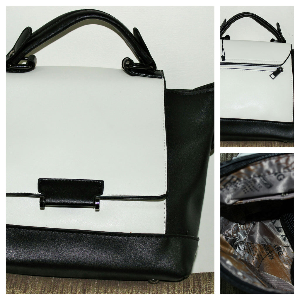 Elegant Monochrome Bag - #FTFY - For The Fun Years