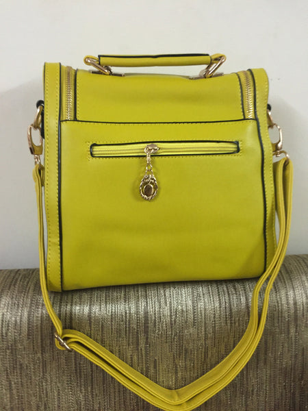 Mustard Yellow Small Hand Bag