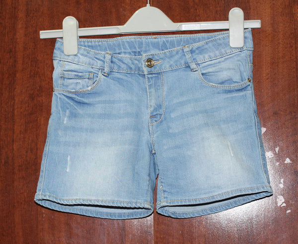 Light Blue Denim shorts - #FTFY - For The Fun Years