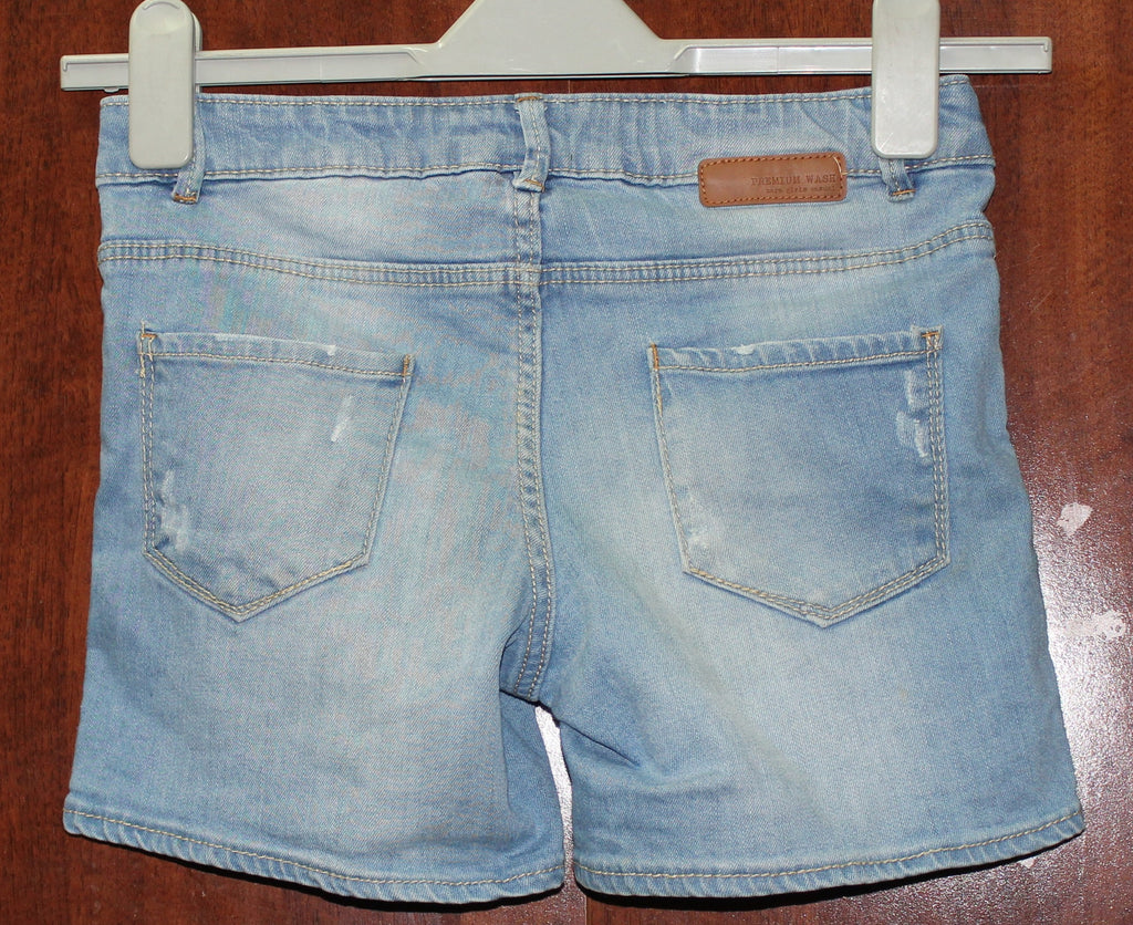 Light Blue Denim shorts