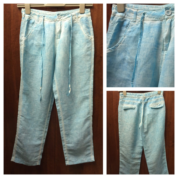 Casual Linen Ankle Length Pants - #FTFY - For The Fun Years