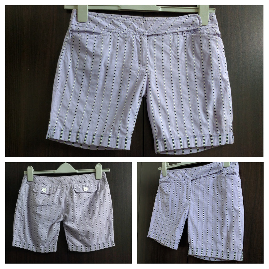 Light Purple Cotton Shorts - #FTFY - For The Fun Years