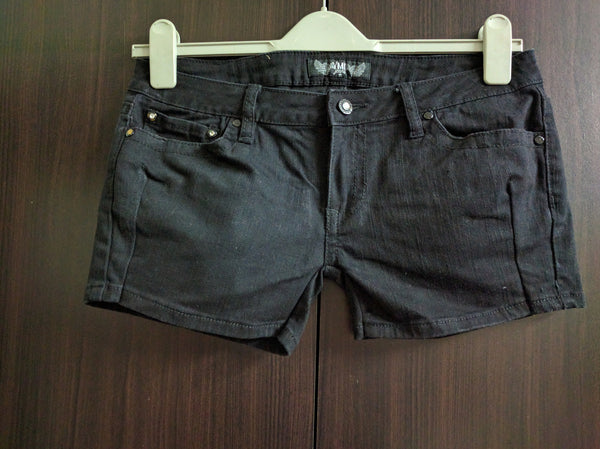 Short Black Denims.
