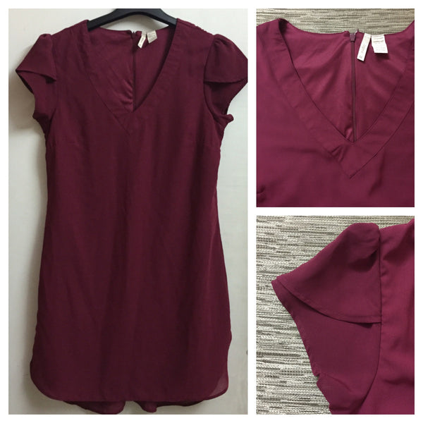 Maroon Formal Dress - #FTFY - For The Fun Years
