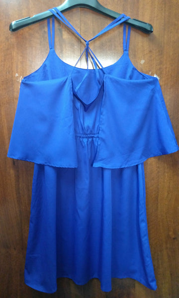 Blue Fluff Designer Dress - #FTFY - For The Fun Years