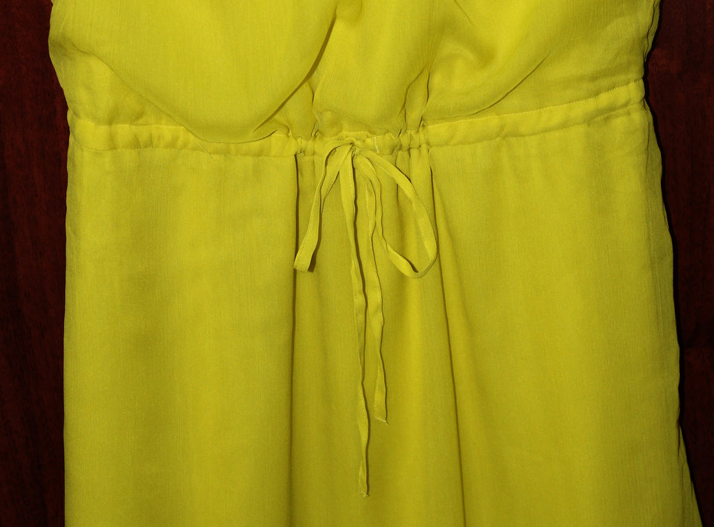 Super Soft, Lemon Yellow,All season dress