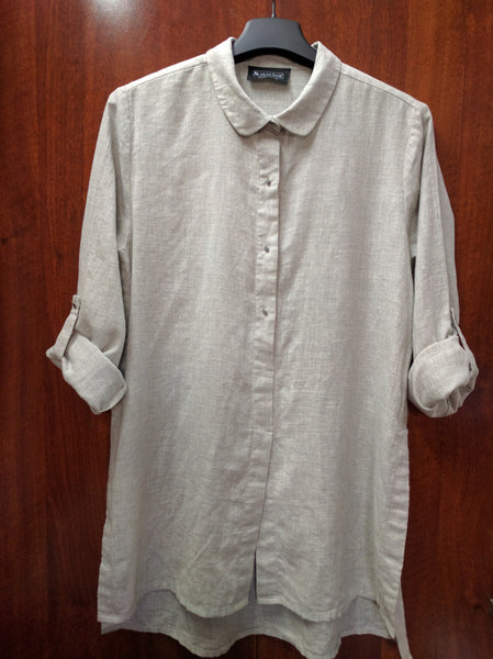 Somewhat Warm Grey  Tunic - #FTFY - For The Fun Years