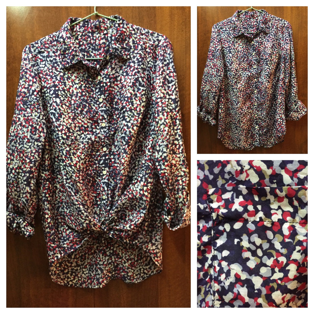 Smart Printed Multicolor Shirt