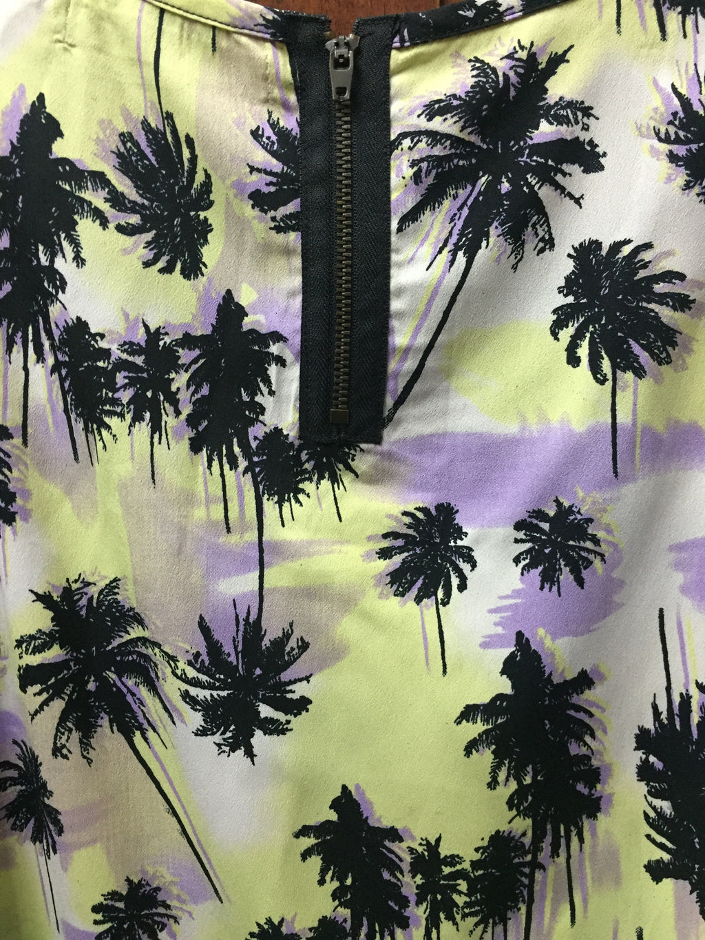 The palm Trees - Yellow & Black Top