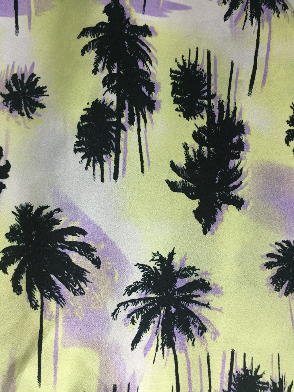 The palm Trees - Yellow & Black Top - #FTFY - For The Fun Years