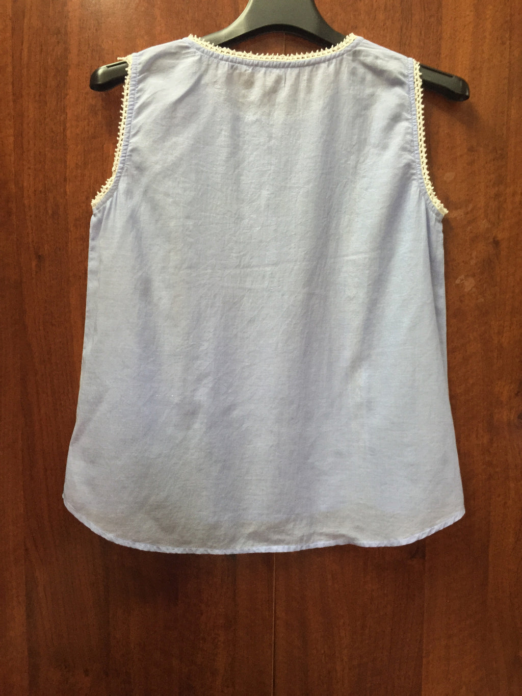 Ink Blue Cotton Sleeveless Top - #FTFY - For The Fun Years