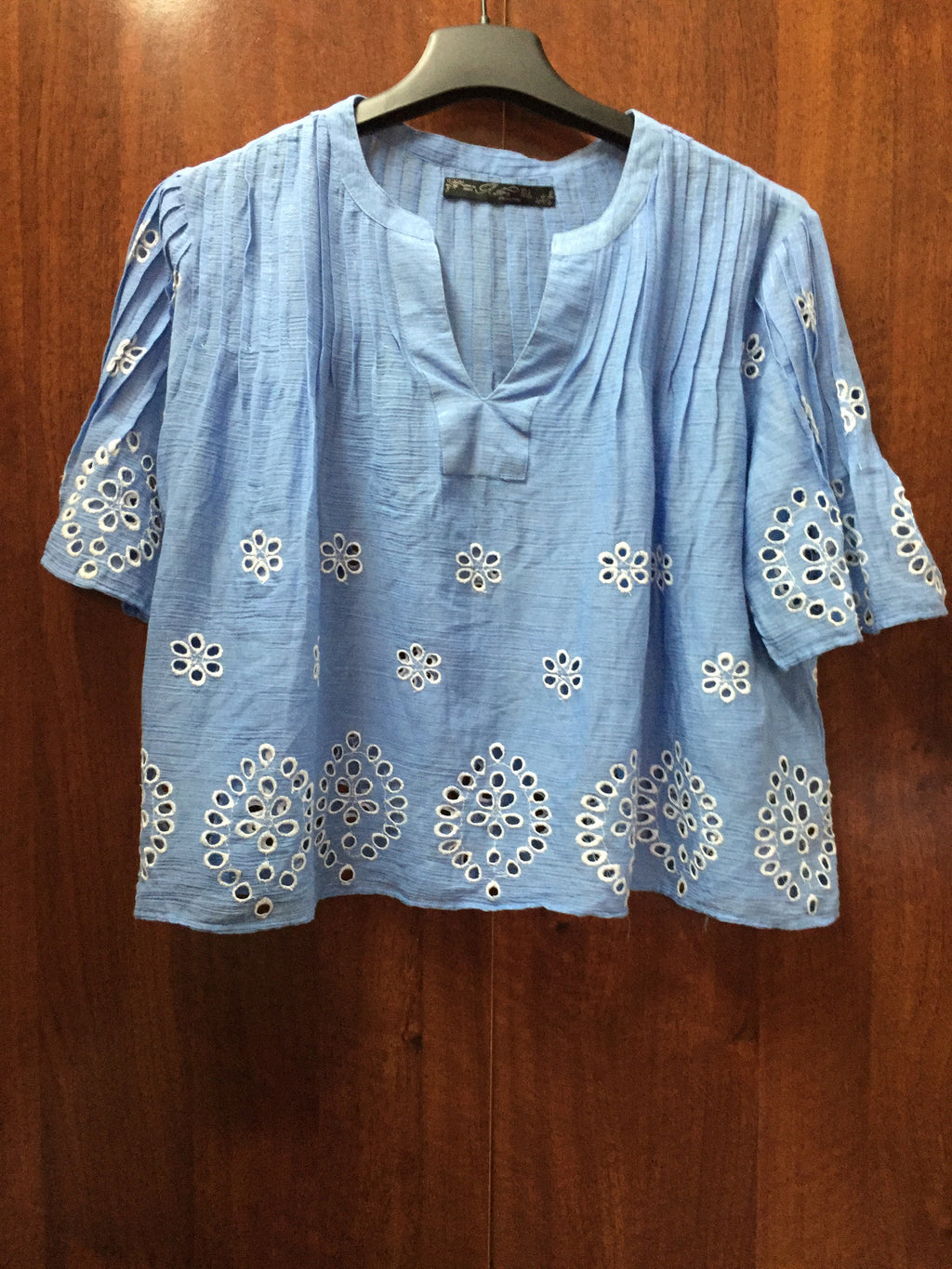 Stylish Blue Short Top - #FTFY - For The Fun Years