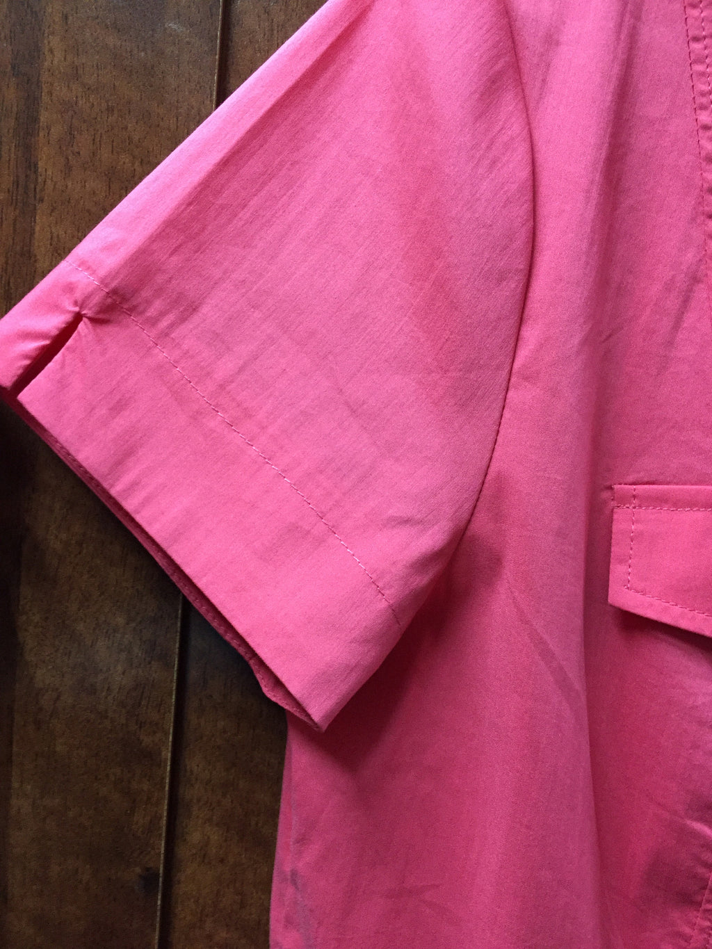 Carmine Pink Formal Stretchable Shirt - #FTFY - For The Fun Years