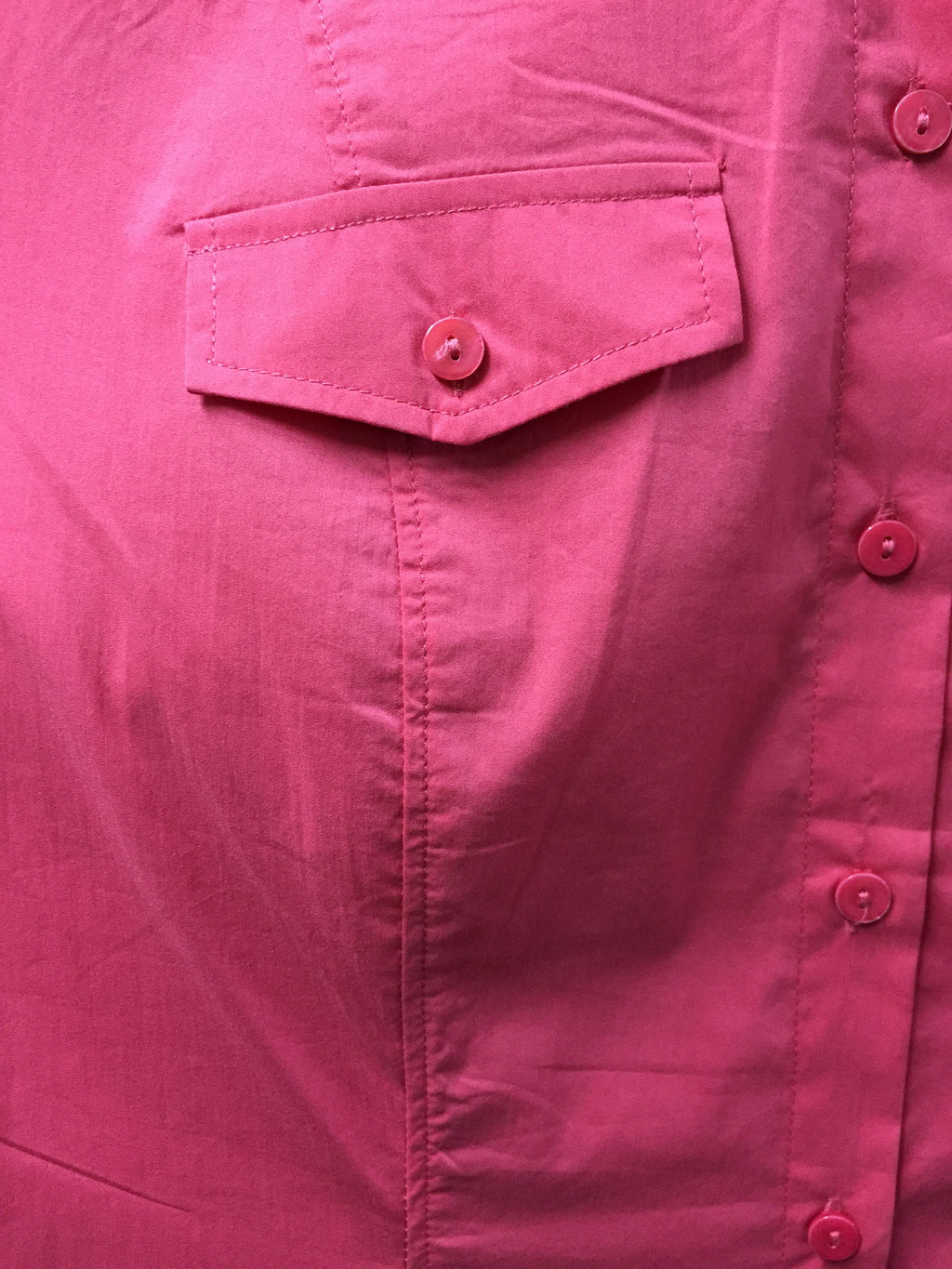 Carmine Pink Formal Stretchable Shirt