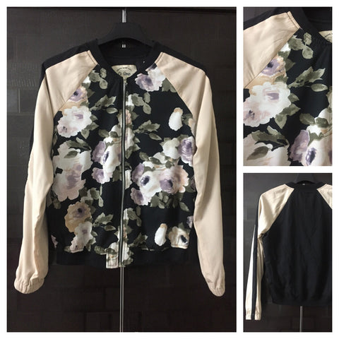 Stylish Retro Floral Light Jacket