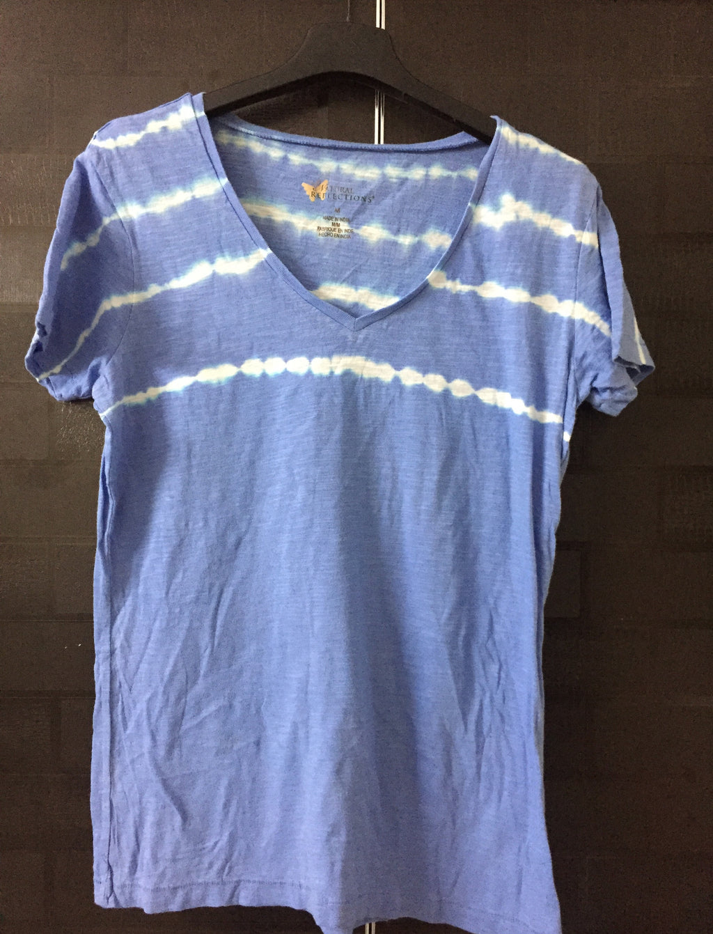 Blue and White Stripes Tee