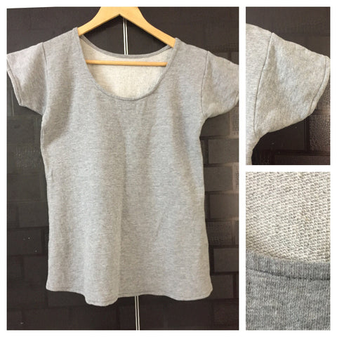 Little Warm - Essential Grey Tee