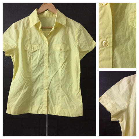 Semi Formal yellow Shirt