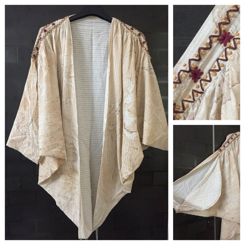 Stylish - Light Brown, Front Ruffled Shrug