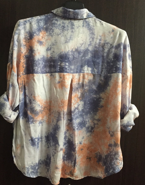 Galaxy Colorful Shirt with Broad  shoulders