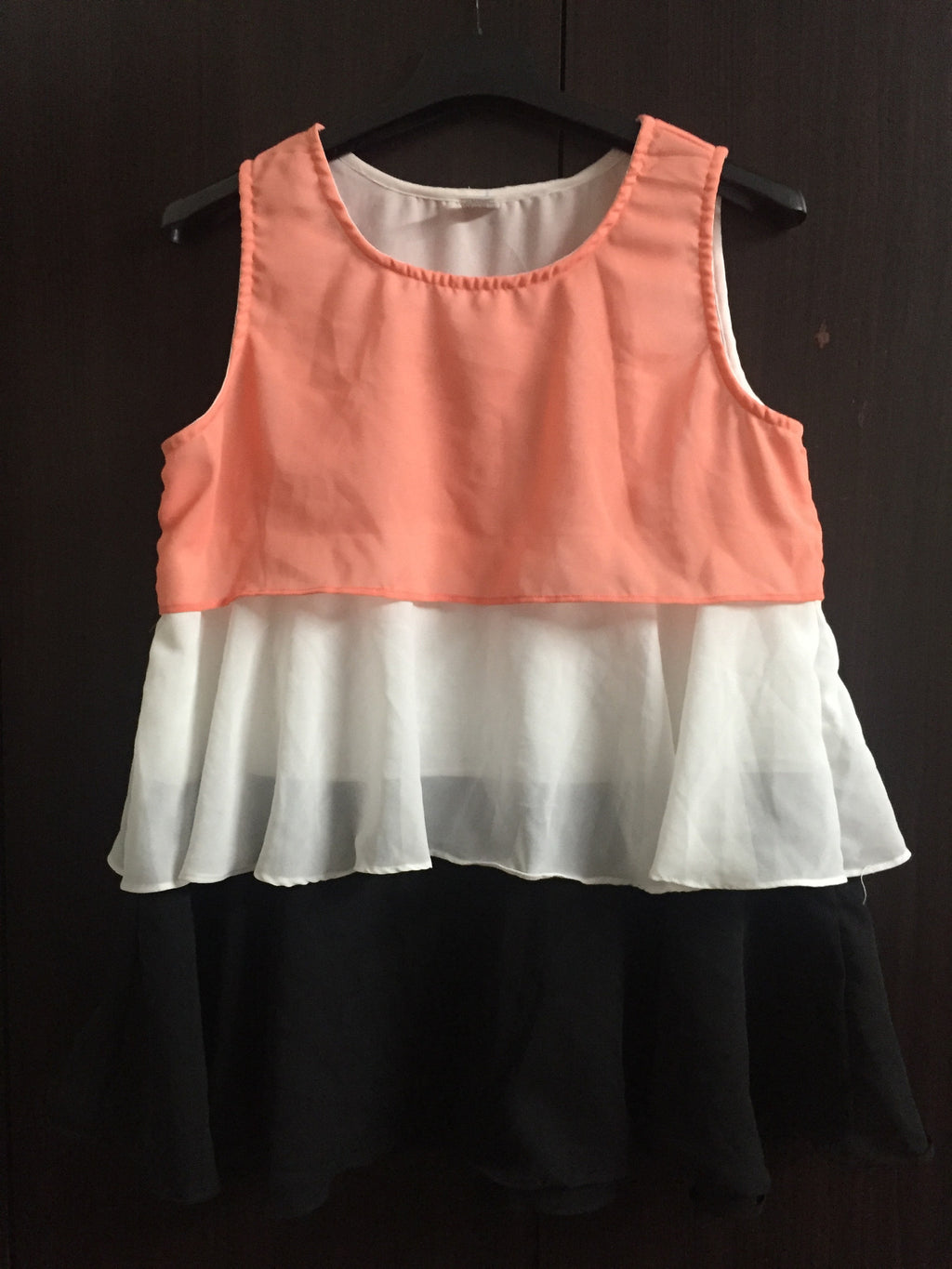 3 Color Sleeveless Top - #FTFY - For The Fun Years