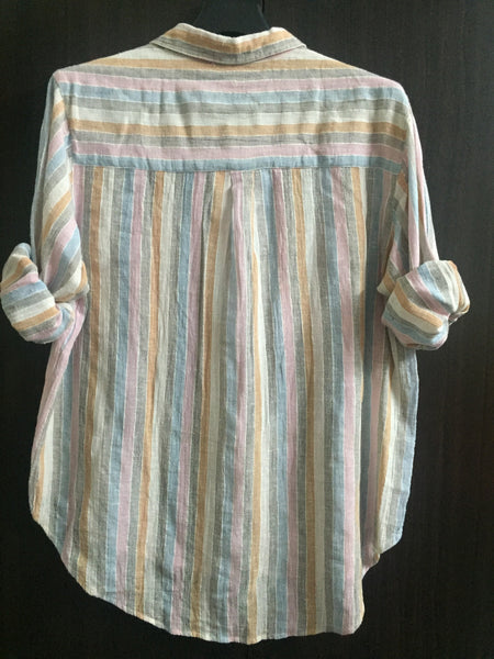 Colorful Stripes Comfy Fit Top