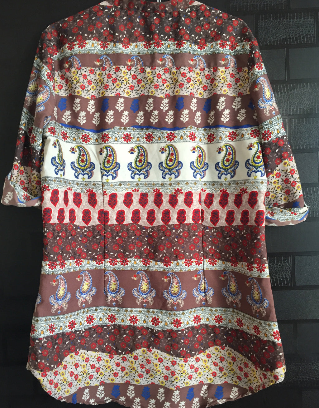 Multicolor-Multiprints, Casual Shirt