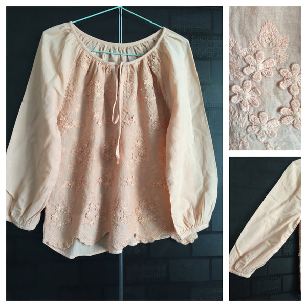 The Flowery Peach Top