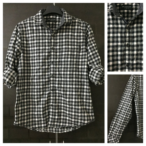 Warm - Stylish Black and White Casual Shirt
