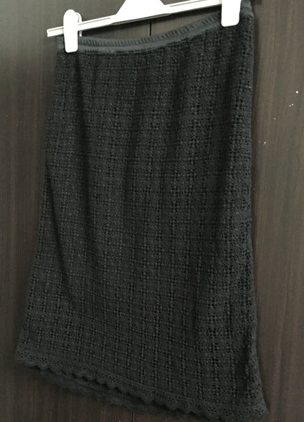Black Cotton Long Net Skirt - #FTFY - For The Fun Years