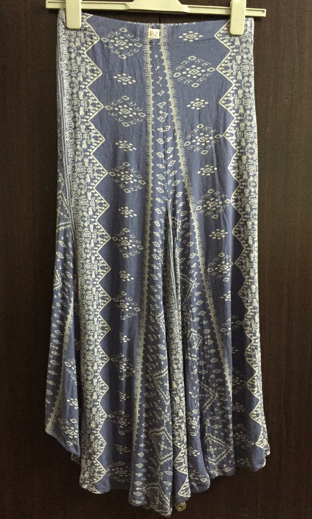 Pretty Blue, High - Low Long skirt