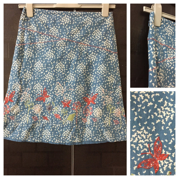Little butterflies, Blue Skirt