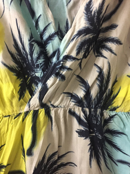 Beach Trees Dress with deep V neck - #FTFY - For The Fun Years