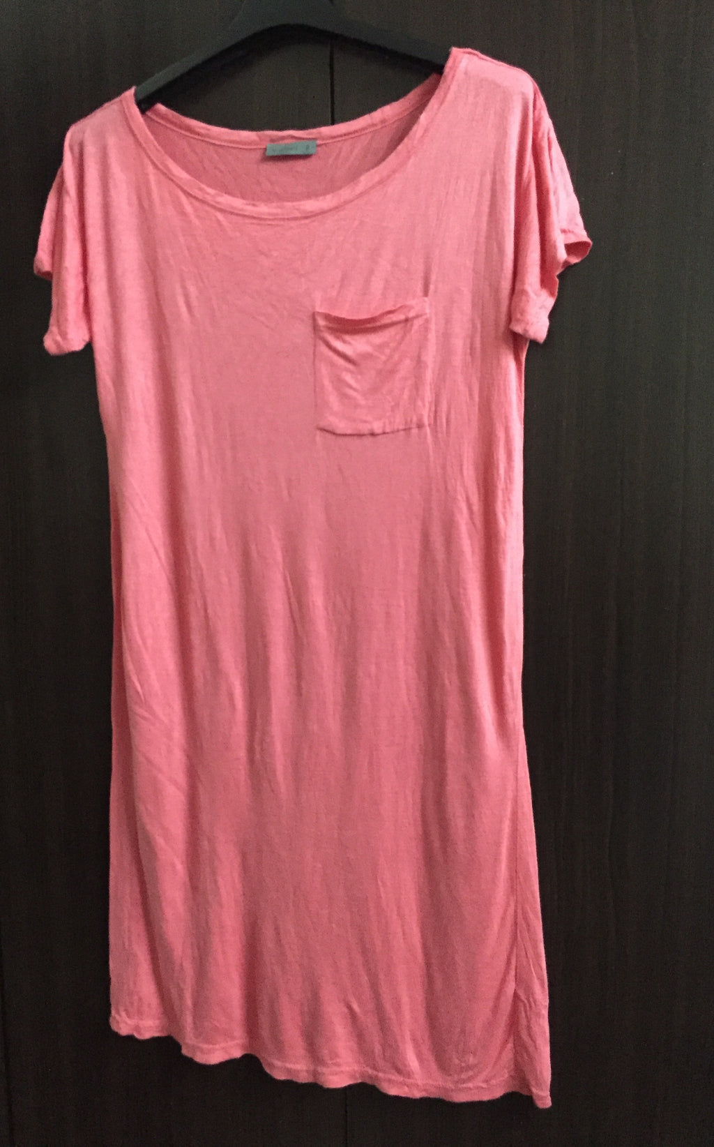 Soft Pink Knee Length Top