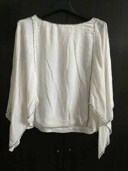 Really Elegant White Party Top.